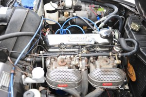 Engine bay - with Rudd Speed modification. 2013